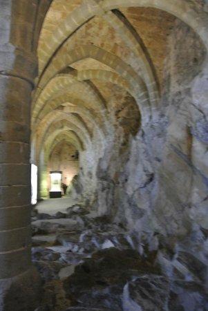Chateau de Chillon : rifugi sotterranei (prigioni)
