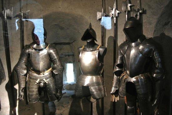 Chateau de Chillon : armature