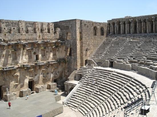 Greek Amphitheater : Nice theatre