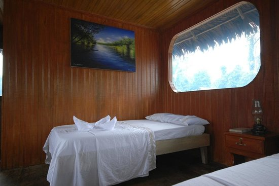 Curassow Amazon Lodge: Beautiful rooms with private bathroom, shower and running water.
