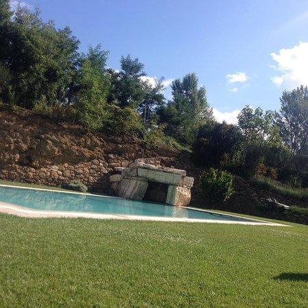 Molino della Lodola: La cascata.