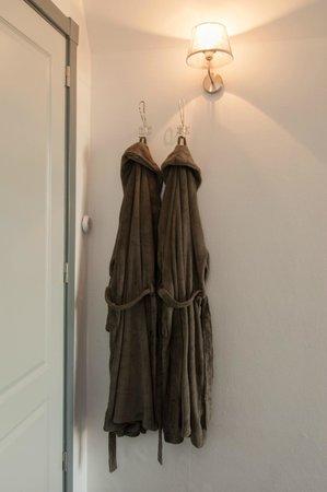 Sint Annen, هولندا: Vele luxe extras als badjassen