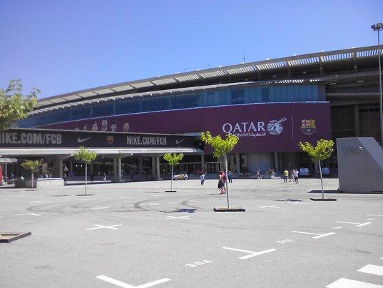 Camp Nou : entree