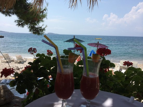 Villas Plat : Beachside cocktails!