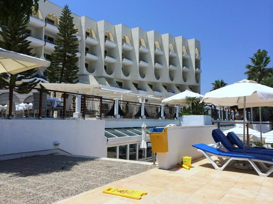 Golden Coast Beach Hotel: a view from the Beach of the Hotel