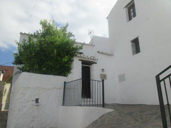 Casas de Parauta: puerta