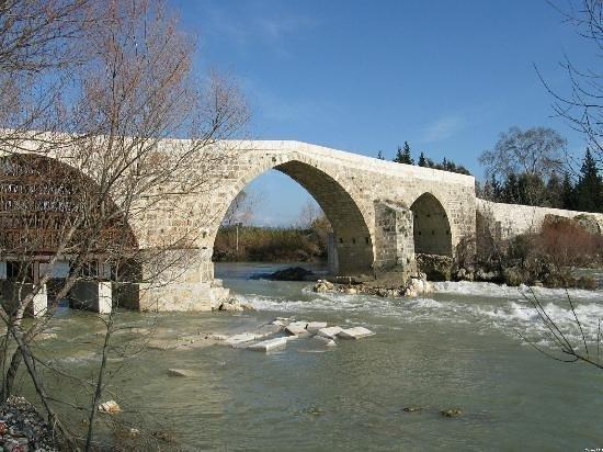Aspendos Bridge: Bridge