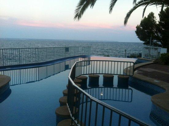 Roc Illetas: piscine
