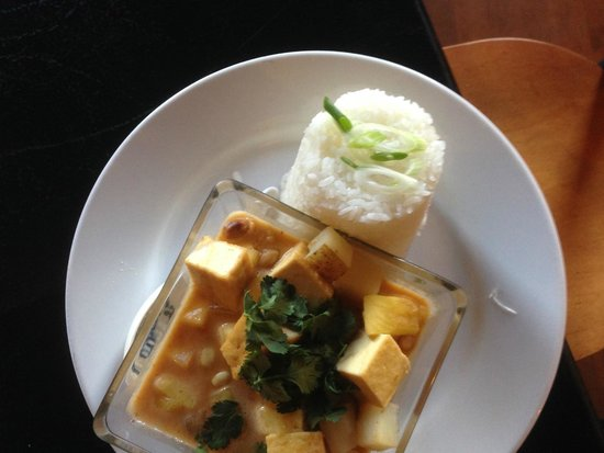 The Asian Palate: Curried tofu