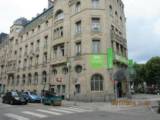 Ibis Styles Metz Centre Gare : Facade d'époque