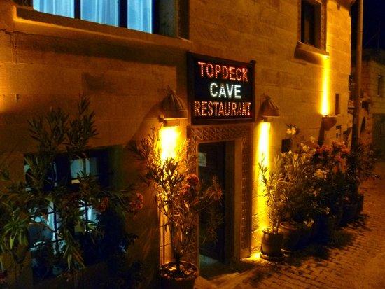 Topdeck Cave Restaurant: Topdeck Restaurant in Goreme, Turkey