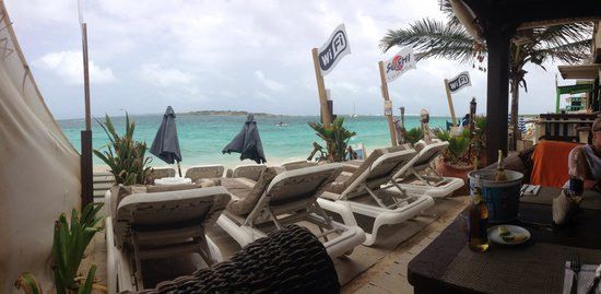 The Sun Beach Clubber : View from cabana