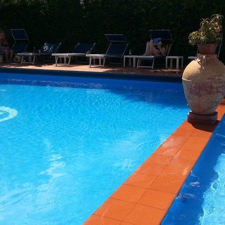 Hotel Central : Scorcio piscina