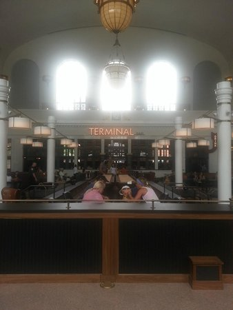 Union Station: Is this a train station?