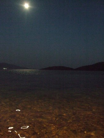 Sail Ionian Yacht Charter: Kalamos - full moon