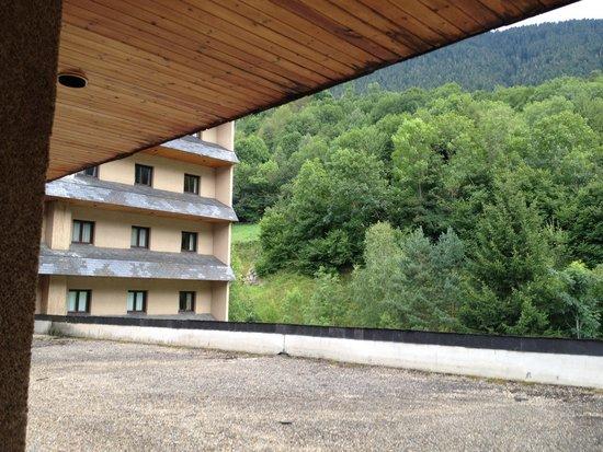 Husa Tuca Hotel: Vista des de habitacion 1a planta