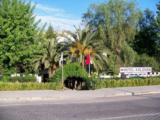 front entrance, Hotel Kalehan, Selcuk, Turkey