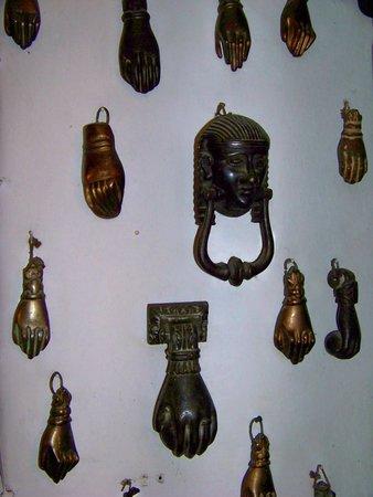 lobby knocker collection, Hotel Kalehan, Selcuk, Turkey