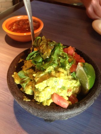 Pappasito's Cantina: Table side guacamole is the best I've had