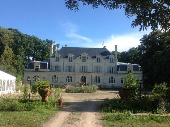 Chateau de la Chausee : The main house