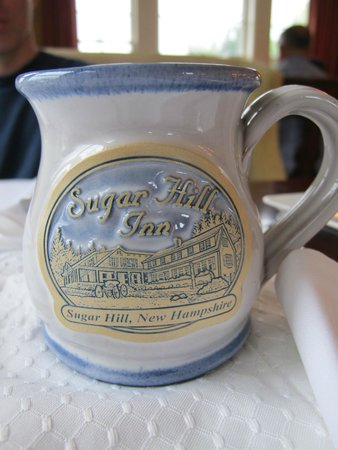 Sugar Hill Inn: Stoneware mug