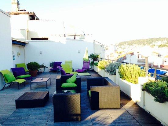 Mercure Nice Centre Grimaldi: terrasse