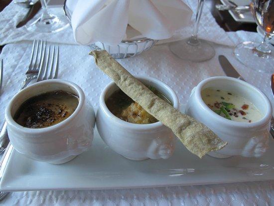Sugar Hill Inn : Soup Trio at Dinner