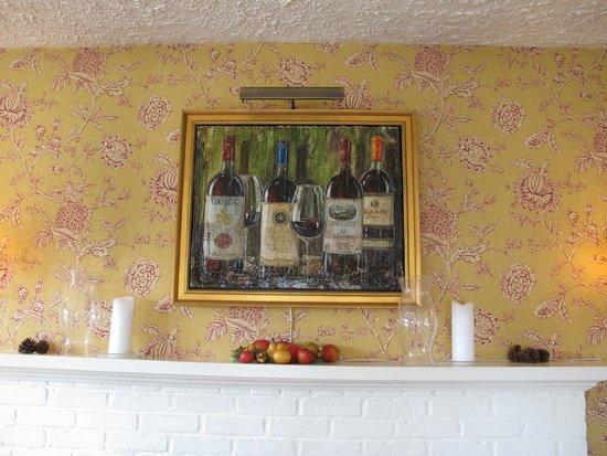 Sugar Hill Inn : Original Artwork in the Main Dining Room