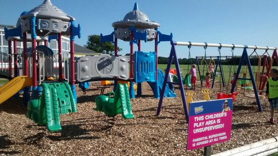 Pontins Pakefield Holiday Park: the newer play area