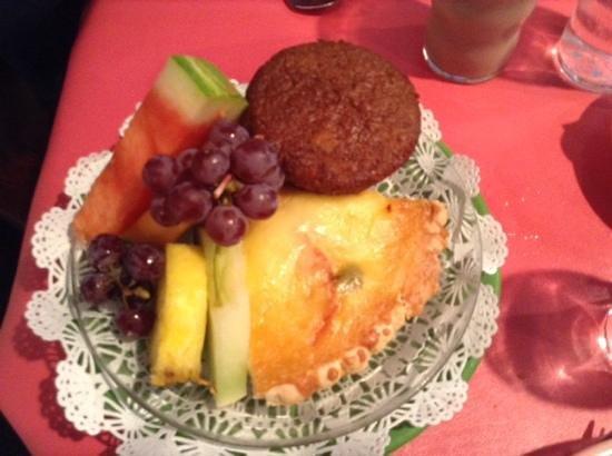 The Village Cafe: Broccoli Quiche.