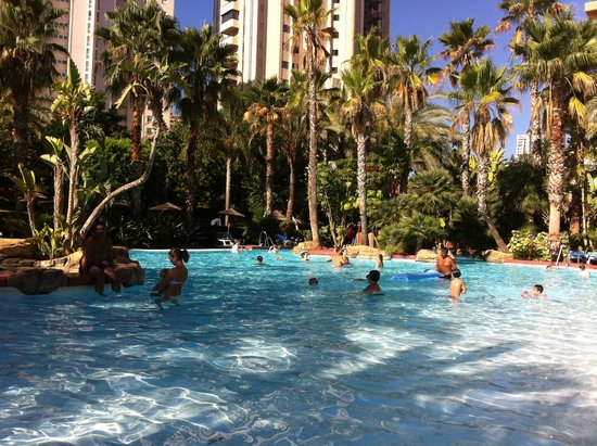 Melia Benidorm: Great pool area and grounds