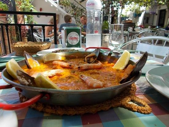 Bar Restaurante Los Pajaritos: Paella for 2 people