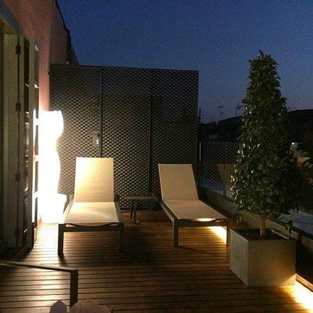 Hotel Espana: terrasse de la suite