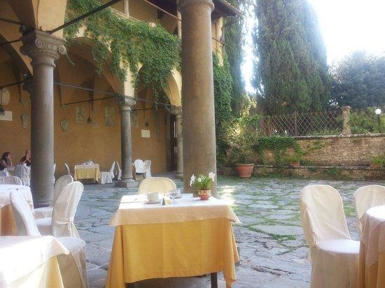 Hotel Villa Casagrande : Location colazione