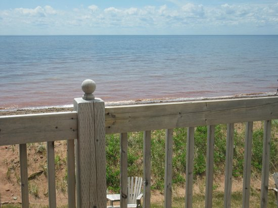 West Point Lighthouse Inn : Room with a view
