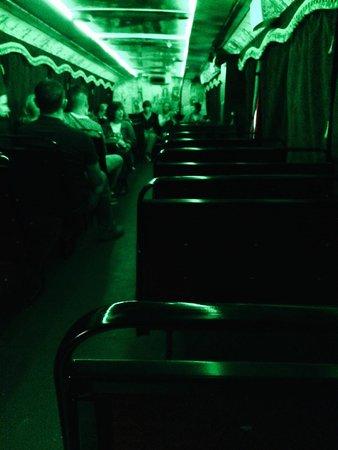 DoDublin: Ghost Bus von innen