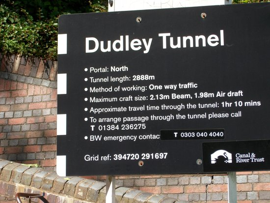 Dudley Canal Trust Trips: at the entrance