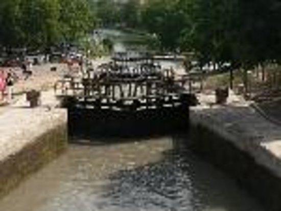 Canal du Midi: Ecluse 4