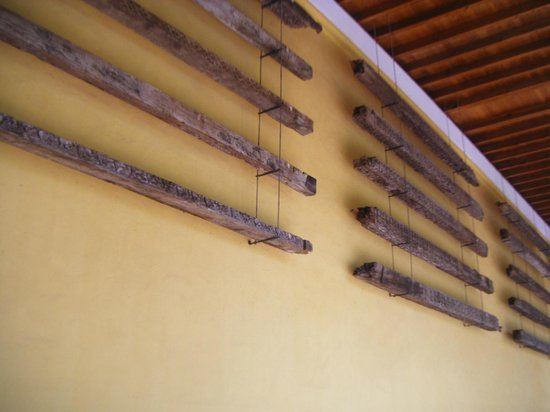 Cathédrale de Cordoue : Balken van het oude plafond ...