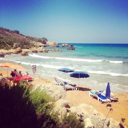 Thirtyseven Gozo: San Blas bay - only a short ride away