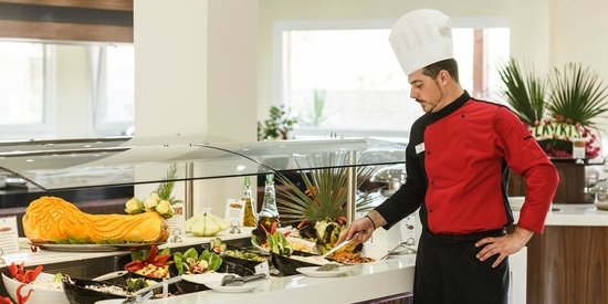 Lavris Hotel Bungalows : COLD BUFFET