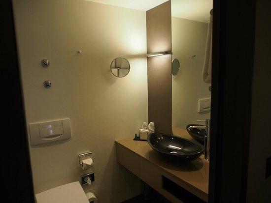 CASCADA Hotel: Washroom