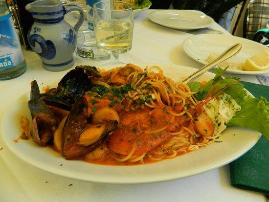 Mignon : Spaghetti allo scoglio