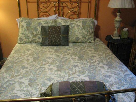 Philadelphia Bella Vista Bed and Breakfast: Bed was comfortable