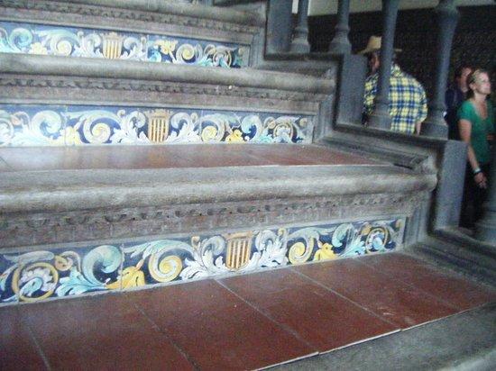 Place d'Espagne : Stapje voor trapje ... of was het ...
