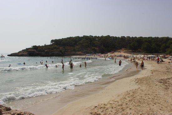 Playa de S'Amarador: Spiaggia