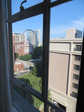 Hampton Inn & Suites Atlanta - Downtown : View from 8th floor