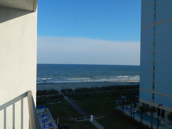Holiday Sands South: view from room 522