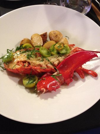 Arbequina : Suggestion du jour demi homard
