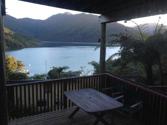 Punga Cove Resort: Vue du chalet